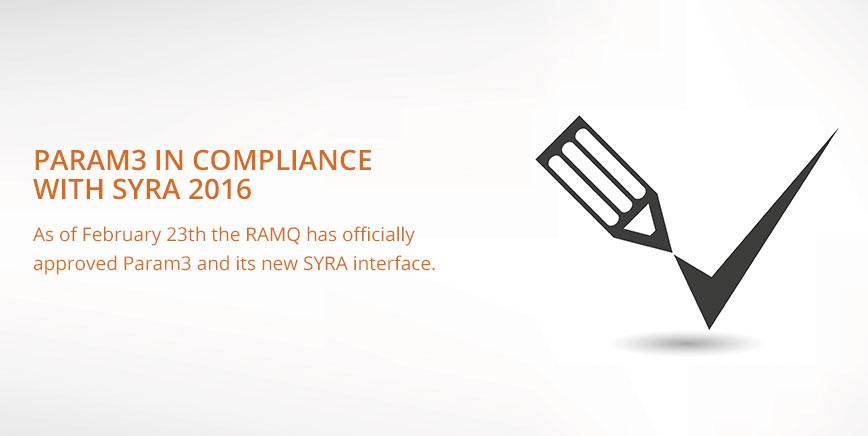 Param in compliance with SYRA
